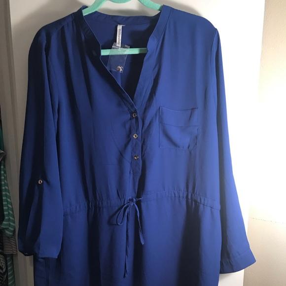 Red Dress Boutique Dresses & Skirts - NWOT blue dress